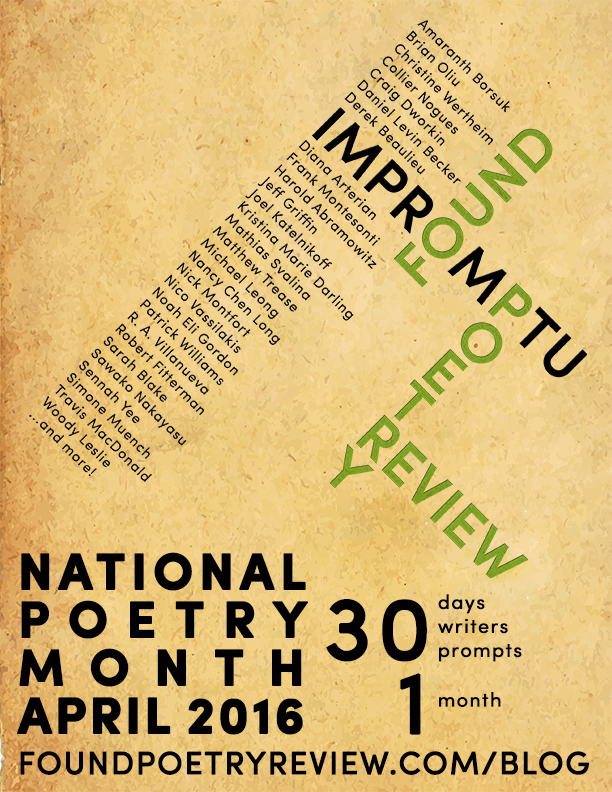 National Poetry Month 2016
